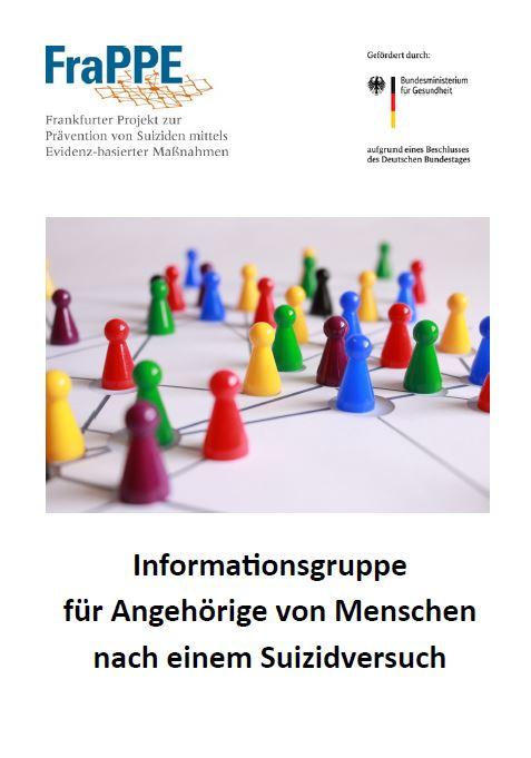 Neu: Informationsgruppe für Angehörige von Menschen nach einem Suizidversuch